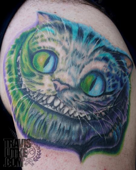Travis Litke - Cheshire Cat from Alice in Wonderland Tim Burton