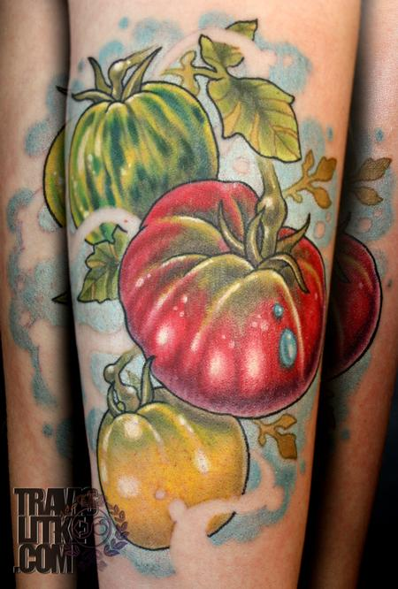 Tomatoes Tattoo Design Thumbnail