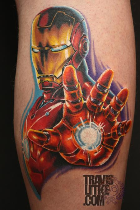 Travis Litke - Iron Man Portrait
