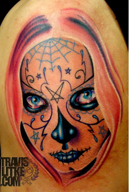 Travis Litke - Day Of The Dead Girl /Sugar Skull Girl