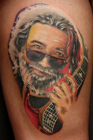 Travis Litke - Jerry Garcia of the Grateful Dead