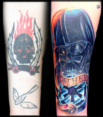 Travis Litke - Father Vader Cover-Up