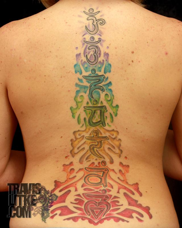 Chakra Backpiece by Travis Litke: TattooNOW