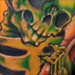 Tattoos - guitar playing skeleton - 31115