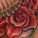 Tattoos - sugar skull and rose - 31117