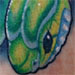 Tattoos - snake and apple - 28068