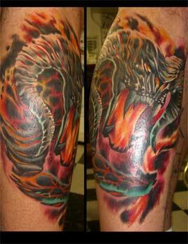 Tattoos - Balrog Tattoo - 27498