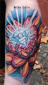 Tattoos - Diamond Lotus - 24754