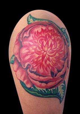 Tattoos - Peony - 14459