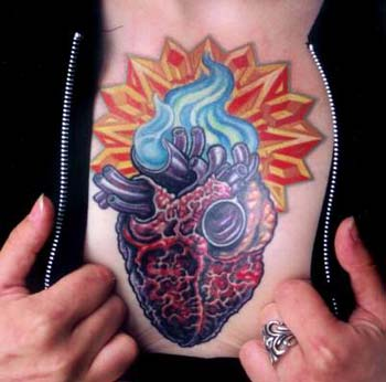 Tattoos - Sacred Heart - 14464
