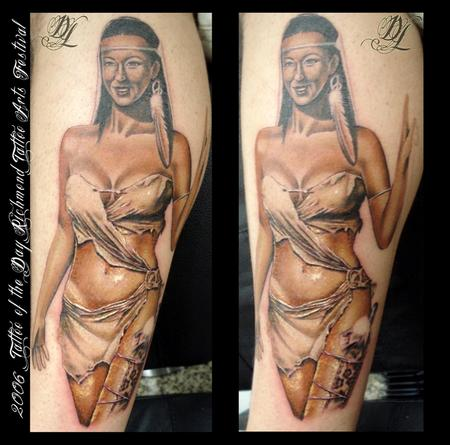 Pocahantas Tattoo Tattoo Design