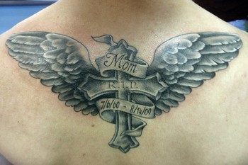 Tattoos on At Ink   Dagger Tattoo   Tattoos   Religious   Mom Memorial Tattoo