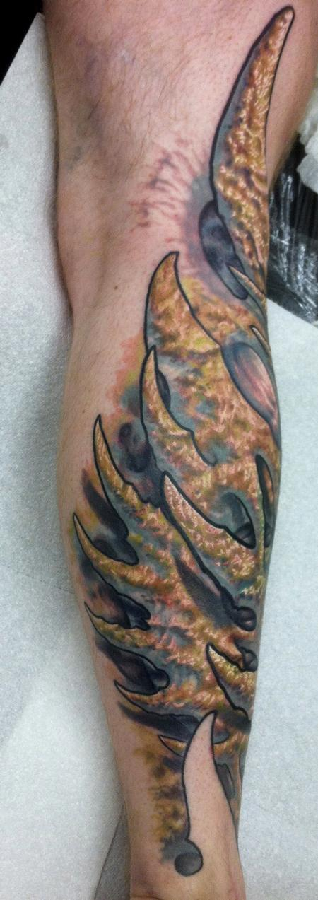 Tattoos - bio organic color tattoo by Ty McEwen - 67984