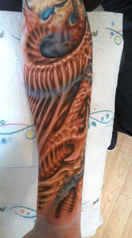 Tattoos - bio organic tattoo - 66830