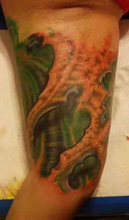 Ty McEwen - bio-organic tattoo