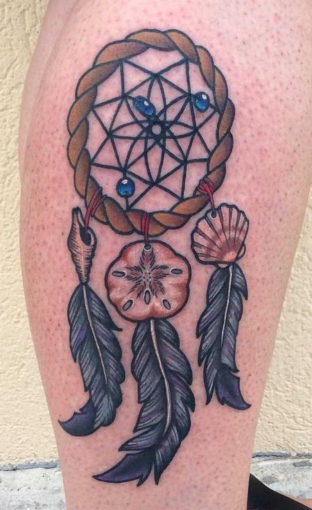 Tattoos - Beachy Dreamcatcher  - 123254
