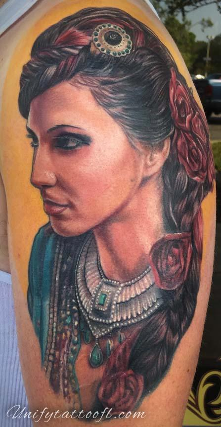 Tattoos - Gypsy Lady - 129400
