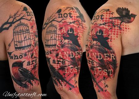 Tattoos - Not All Who Wander Are Lost - 120118