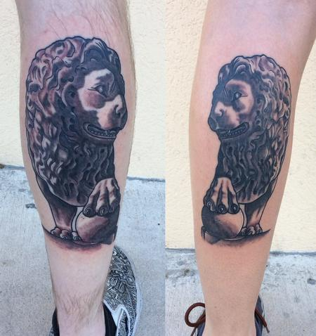 Tattoos - Bridge of Lions, Lions - 123198