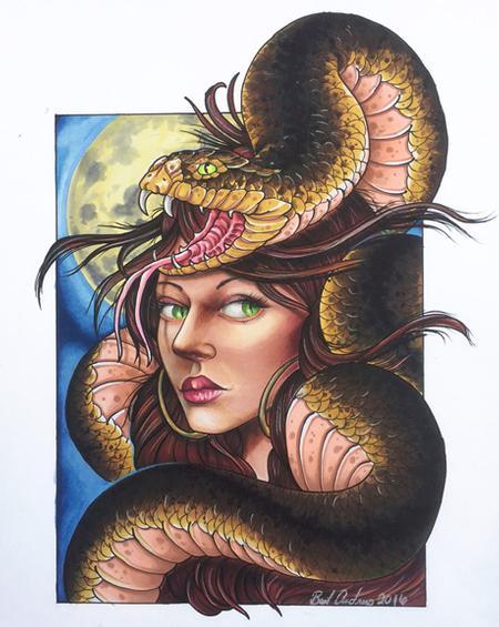 Tattoos - Snake Charmer - 117028