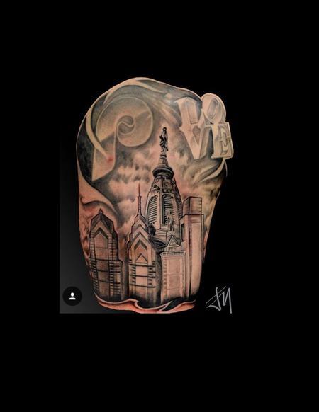 Tattoos - Philadelphia Skyline  - 128858