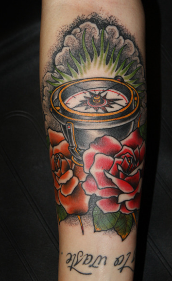 Foerdl - Compass Tattoo