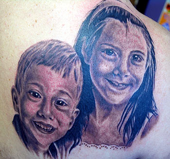 Tattoos - Children Portrait - 25823