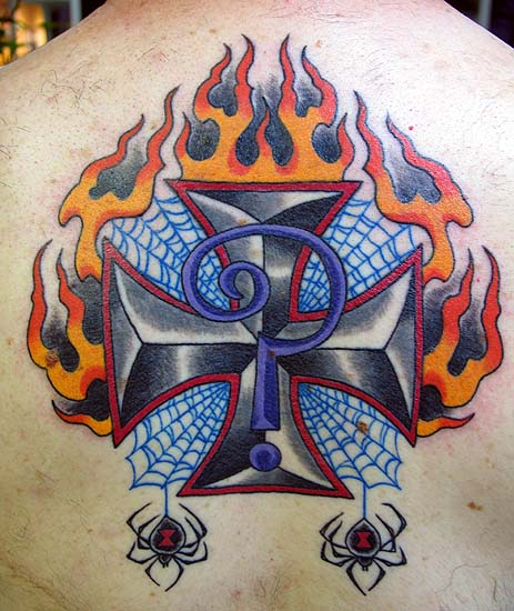 Indian larry by canman tattoonow