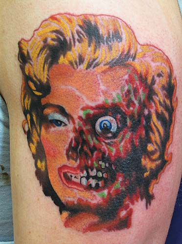 Tattoos - Marilyn Monroe Zombie - 27433