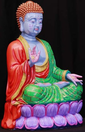 Canman - Hand Painted Buddha