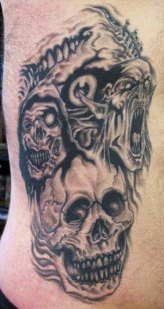 Tattoos - Horror Creatures - 35111