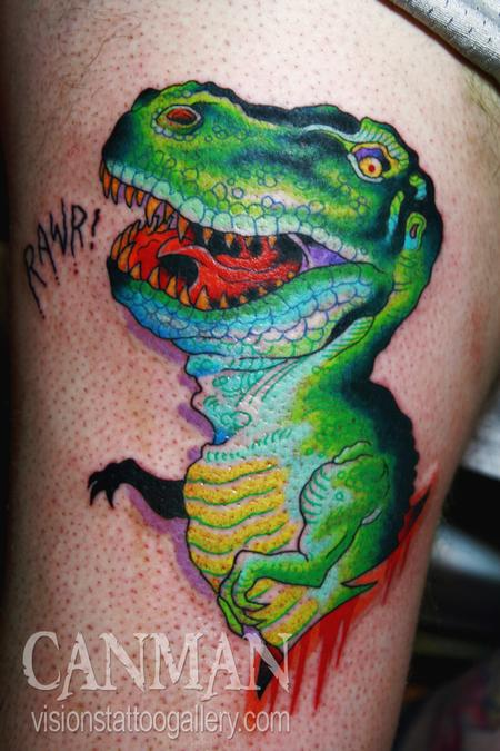 Tattoos - T Rex - 63571