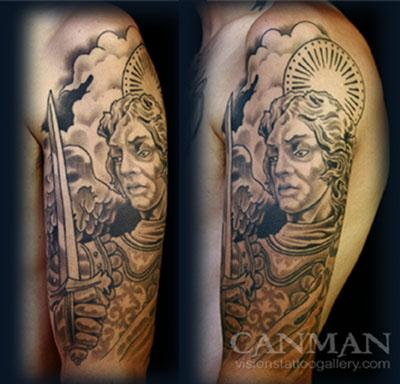 Tattoos - Saint Michael - 65586