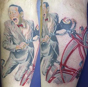 Tattoos - Pee Wee Herman - 35125