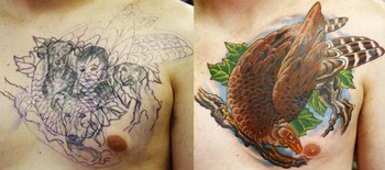 Canman - Eagle Portrait Coverup
