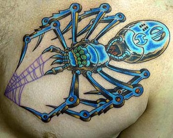 Tattoos - Mechanical Spider - 35129
