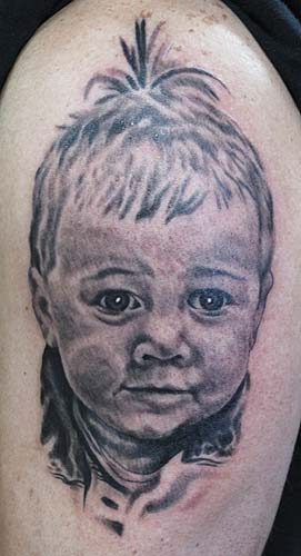 Tattoos - Baby Portrait - 27445