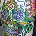 Tattoos - Mexican Day of the Dead Skull - 8600