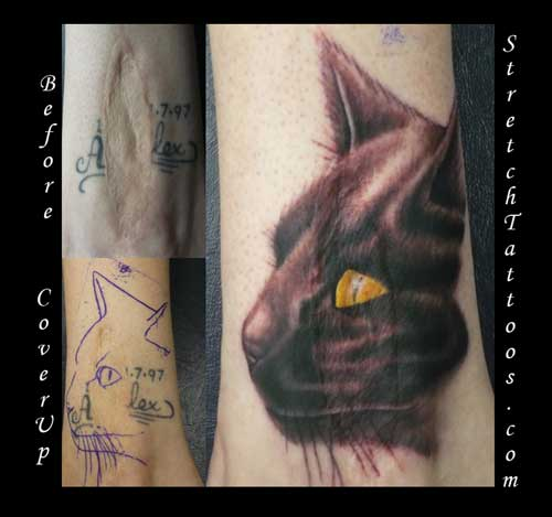 Scar Cover Up Tattoo Designs