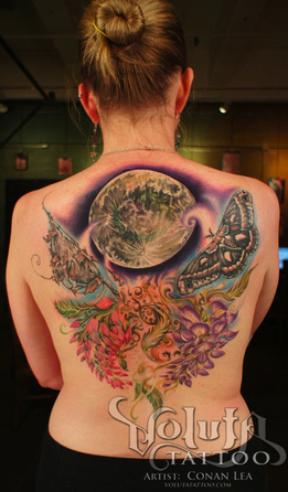Nature and World Tattoo Tattoo Design Thumbnail