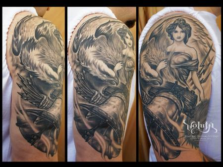 Tattoos - Inkwell Tattoo's Lady Liberty - 64493