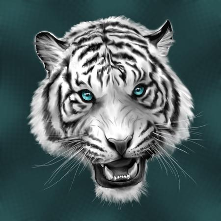 Tattoos - White Tiger - 102353