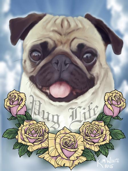 Tattoos - Rest In Pug - 106102
