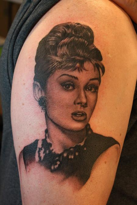 Tattoos - Audrey Hepburn - 67270