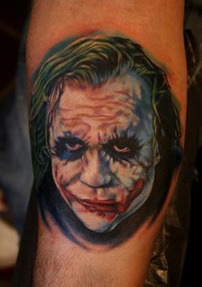 Tattoos - Heath Ledger Joker - 64646