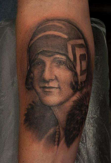 Tattoos - Grandma portrait - 73498