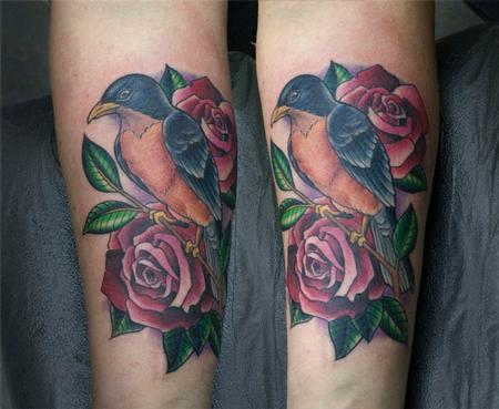 Tattoos - Robin Cover-up - 78102