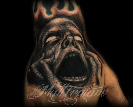 Matt Truiano - Screaming Face