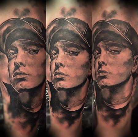 Tattoos - Eminem Portrat - 95550