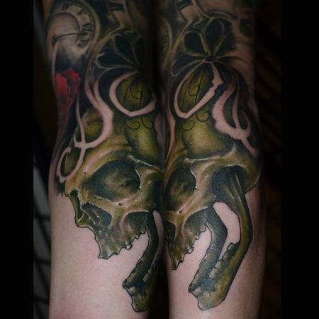 Tattoos - Freehand skull - 93597